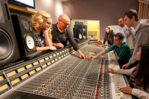 Image result for conservatory of recording arts and sciences