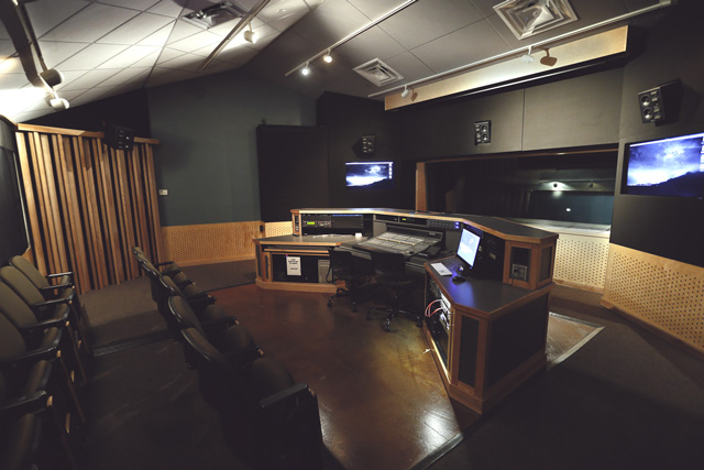 Studio D Control Room — Gilbert
