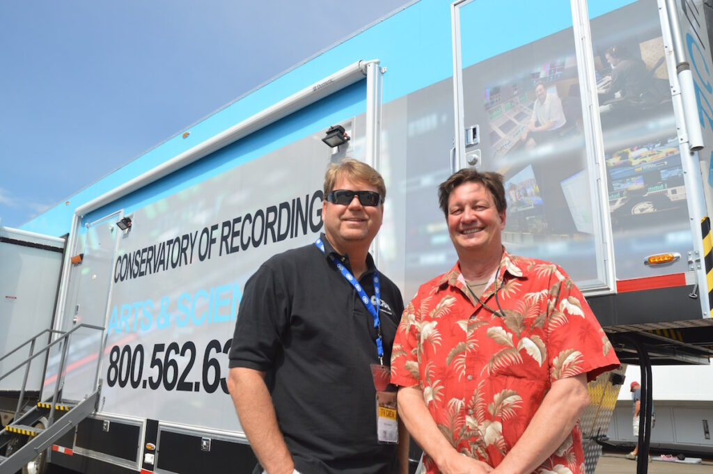 CRAS Administrator Kirt Hamm with Fred Aldous